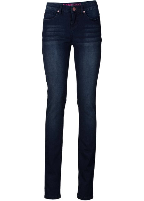 Jeans, super skinny, RAINBOW, dark denim