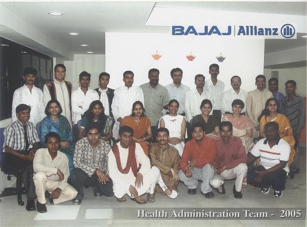Health Administration Team (Bajaj Allianz General ...