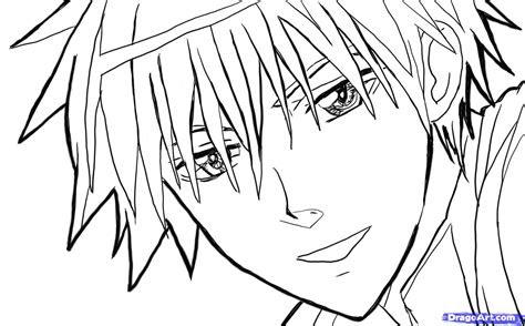 sketch  anime face step  step anime heads