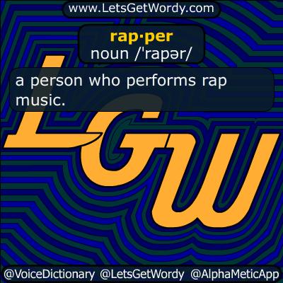 rapper 04/22/2015 GFX Definition