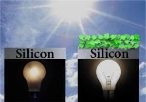 Célula solar biohíbrida feita com espinafre