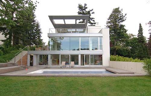 Front View D House Design By Zechner Zechner Zt Gmbh Interior