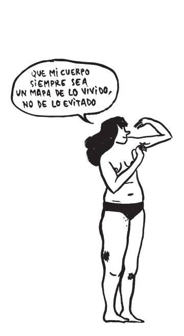 Dibujo de Flavita Banana para 'Las cosas del querer'.