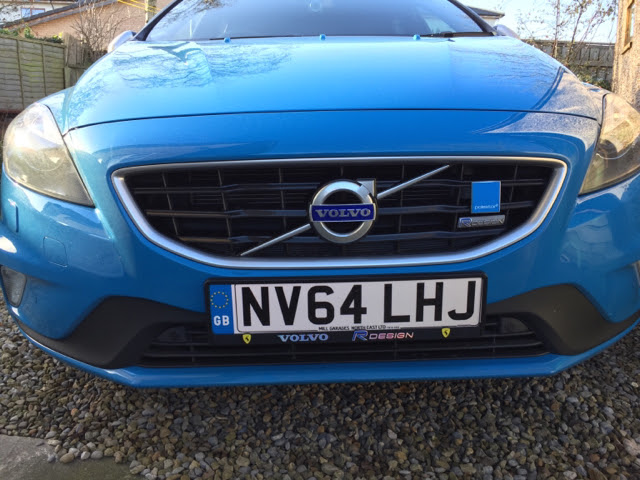 Number Plate Holders - Volvo V40 Forums