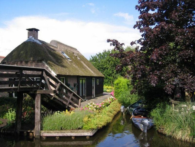 Giethoorn, a Veneza rural da Holanda 19