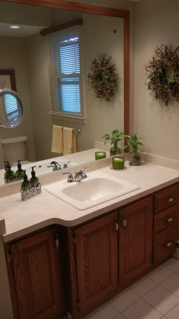 Bathroom Paint Color to Coordinate With Beige Tile ...
