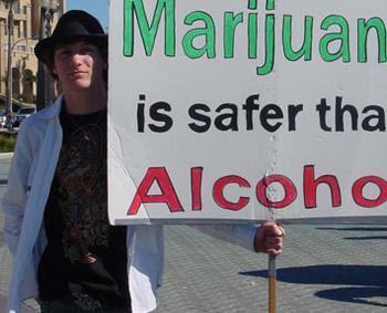 Pot Is Safer