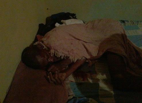 Vítima dormia enquanto recebia tiros