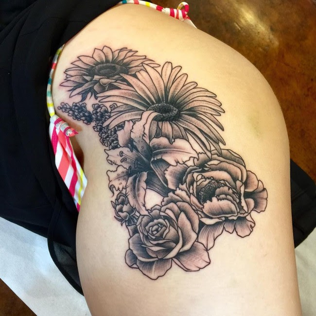 105 Best Hip Tattoo Designs Meanings For Girls 2019