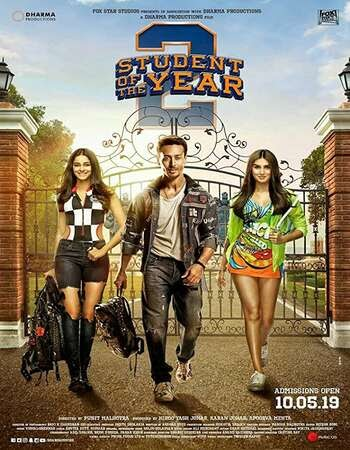 Download Student of the Year 2 (2019) Hindi 720p HDRip x264 AAC ESubs