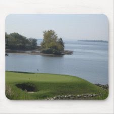 River Green Mousepad mousepad