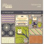 Jillibean Soup - Owloween Stew Collection - Halloween - 6 x 6 Paper Pad