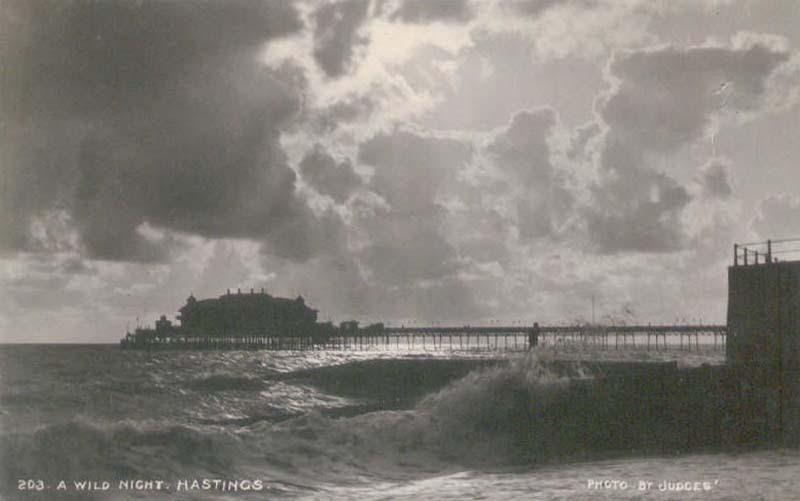 Hastings Pier - Raging Storm