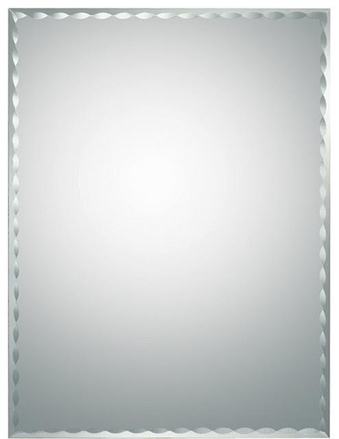 Madeline Modern Bathroom Mirror - contemporary - bathroom mirrors ...