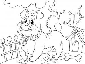 Dibujos De Perros Para Colorear Paracolorearnet