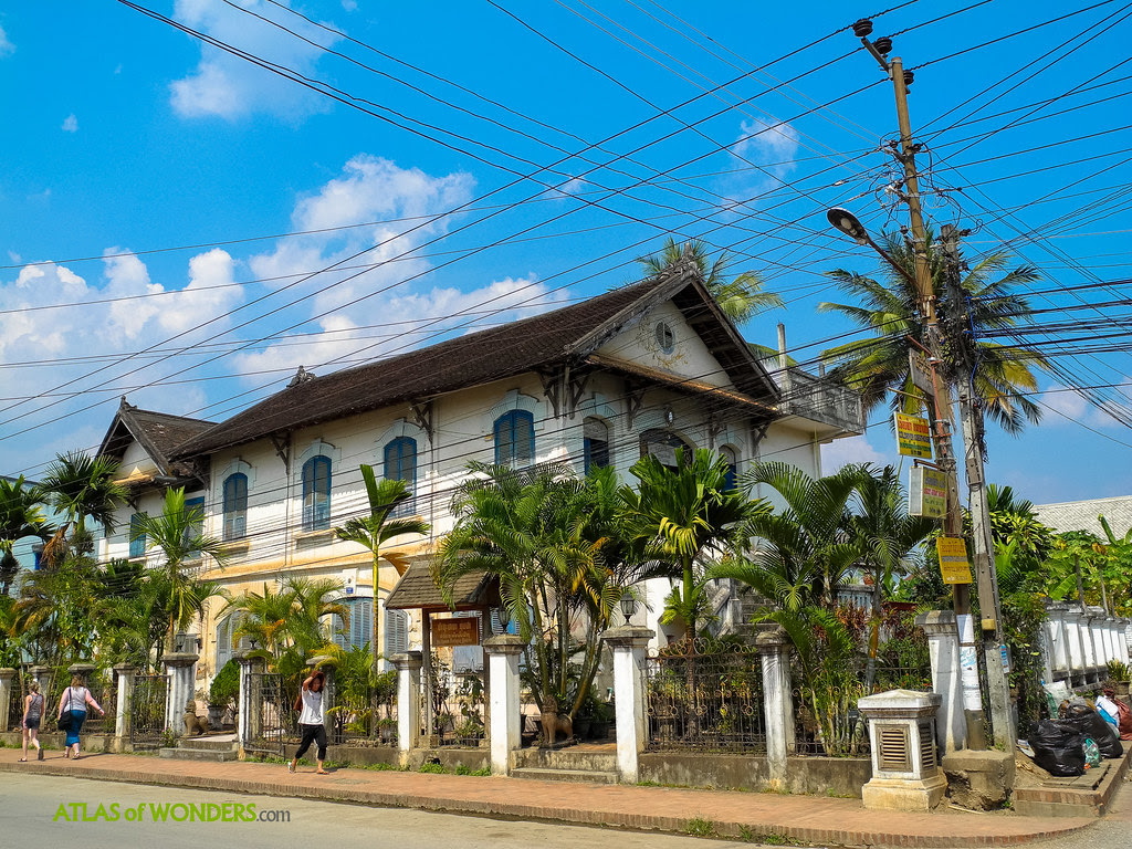 Edificios coloniales franceses