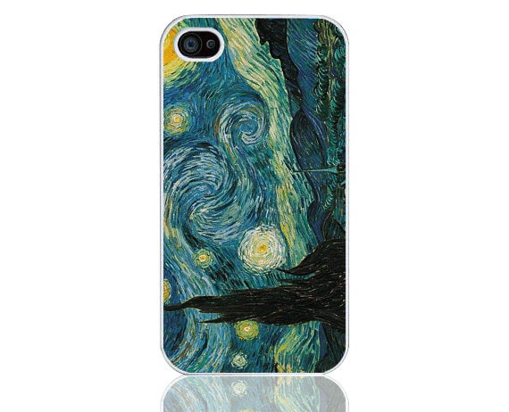Iphone 5 case-- moon and lake No.61