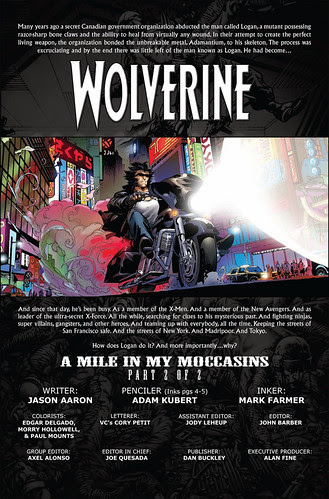 WOLVERINE #74 preview 1