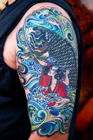 Japanese Half Sleeve Tattoo Design Ideas For Men Tattoomagz