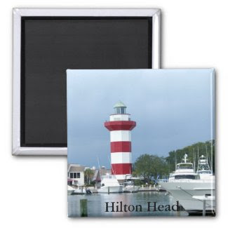 Hilton Head Lighthouse Magnet