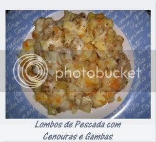 Lombos de Pescada com Cenouras e Gambas1