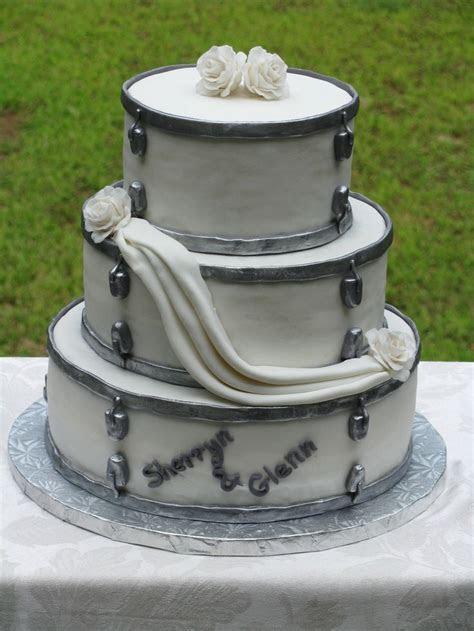 Drum set wedding cake   Cakes I Made   Pinterest   Cake