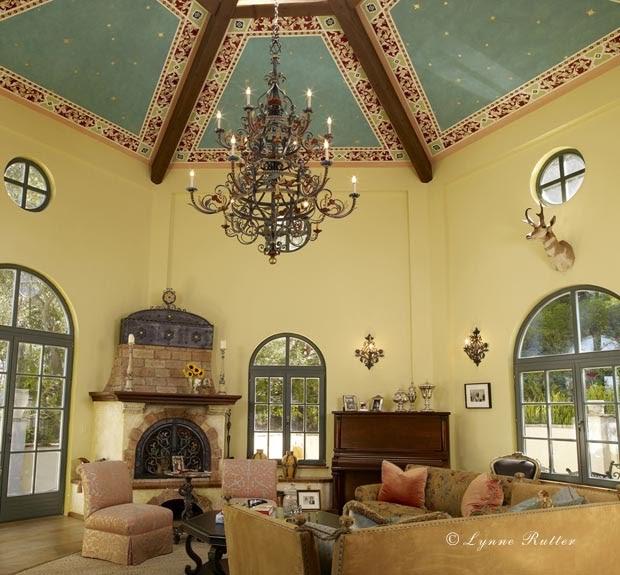 The Ornamentalist Italian Hexagonal Ceiling