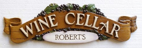 Wine Cellar Personalized Wall Plaque
