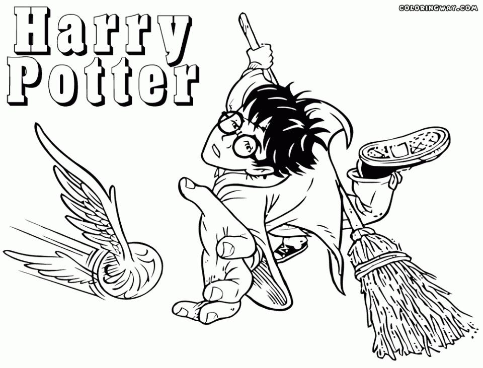 Harry Potter Gryffindor - Free Colouring Pages