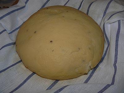 pâte crichente levée