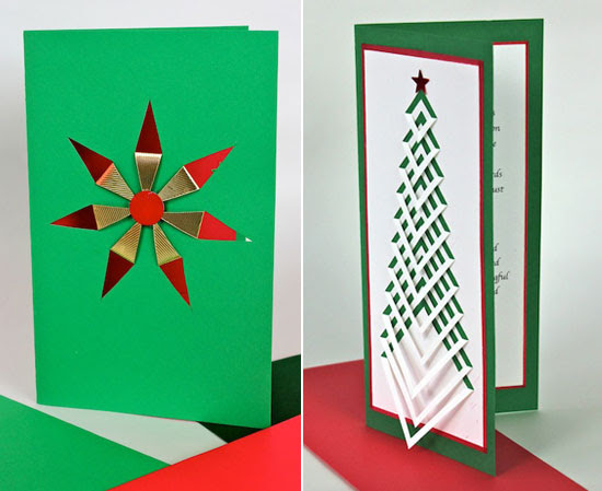 christmas card ideas handmade - Handmade Christmas Cards Ideas