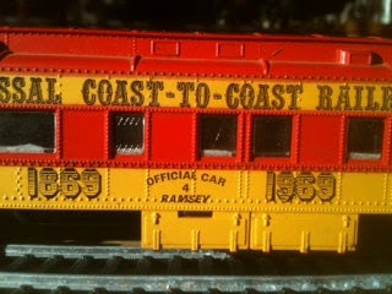 Vintage Trains on Etsy