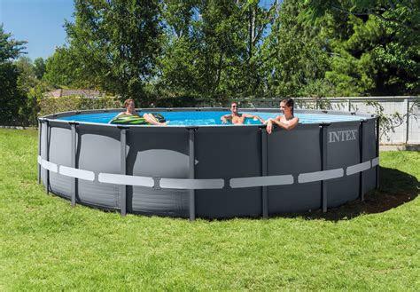 intex frame pool ultra rondo xtr     cm pools