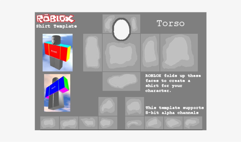 Roblox Shading Template 585 X 559 | Roblox Free Jacket
