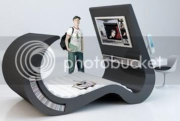weird furniture design teenager lounger