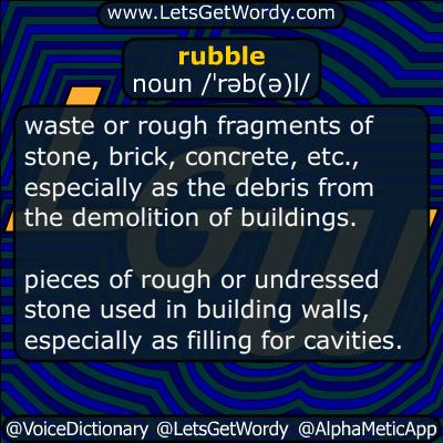 rubble 08/24/2016 GFX Definition
