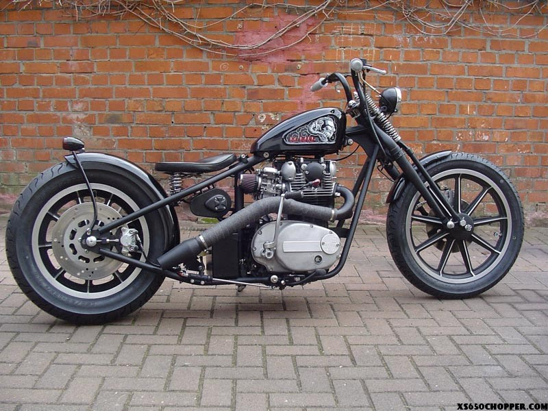 "XS 650 German Bobber - beautiful xs650 chopper named ""NO ..."