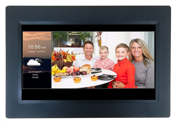 Sungale 10 Wifi Photo Frame With Touchscreen Connected Crib