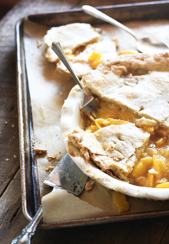 a mess of peach pie.