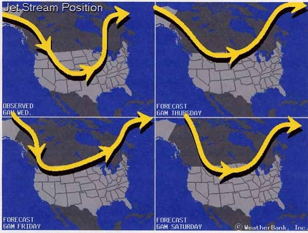 Us Jet Stream Forecast Map