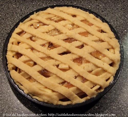 Crostata di Mela e Fichi / Appeltaart met vijgenjam / Apple Fig Pie