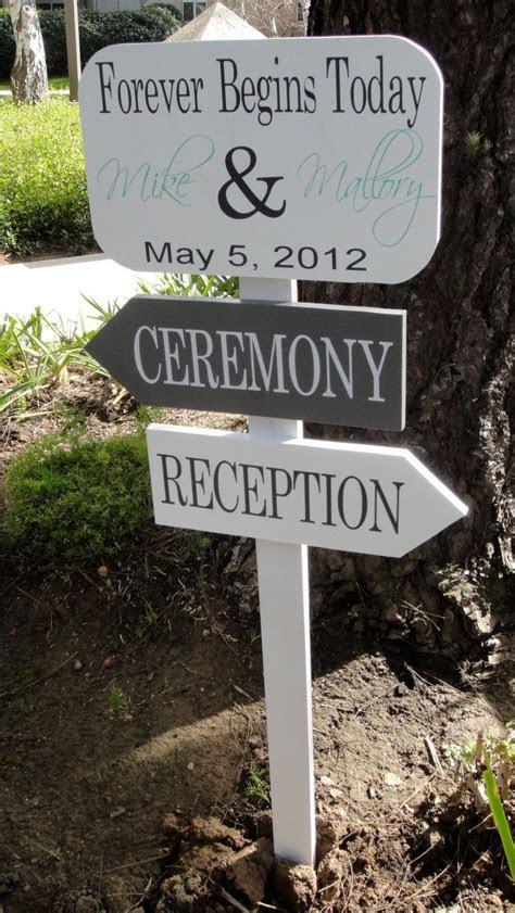 Wedding Directional Sign    Wedding Signage    Custom Wood