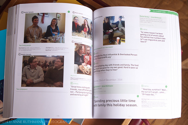 MySocialBook - Printed Book of My Facebook Feed