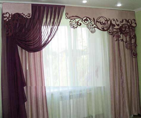 stylish window curtains designs  living room