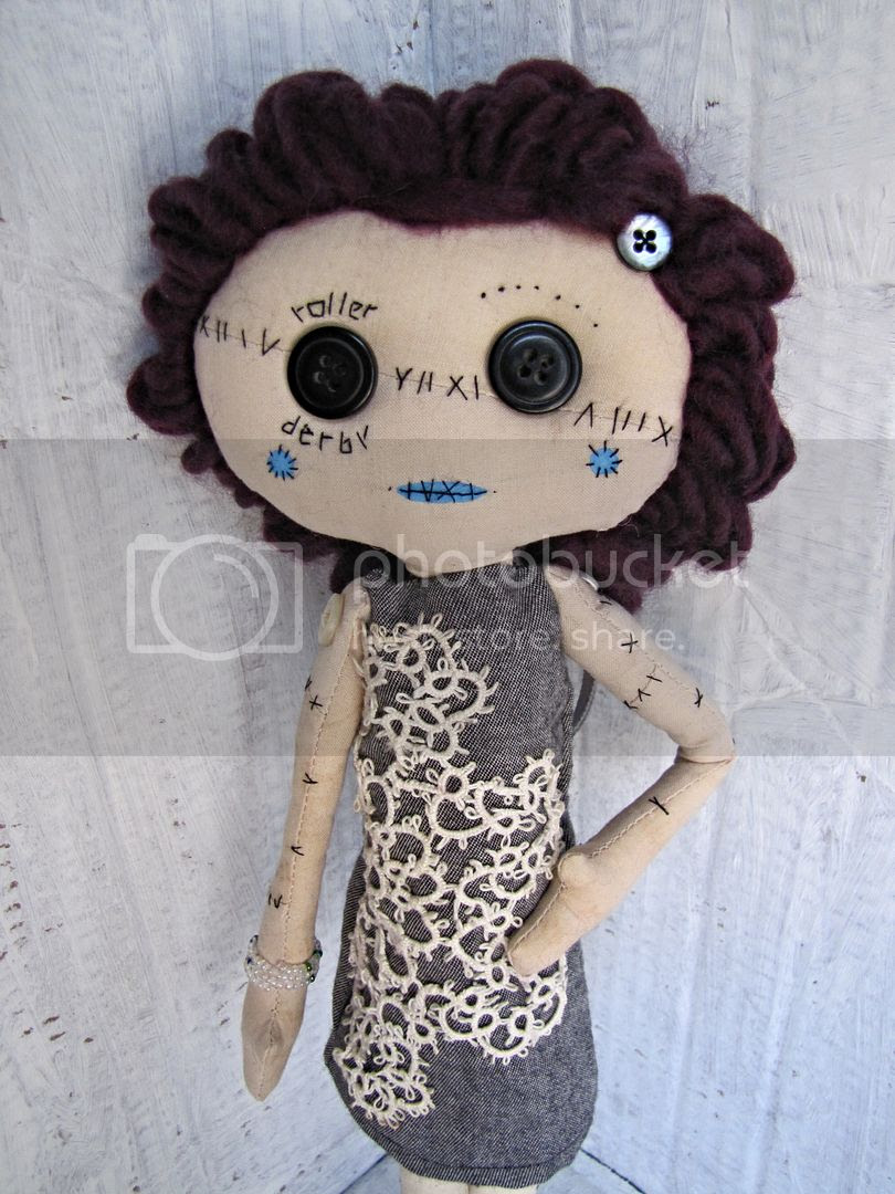 roller derby handmade doll by Indietutes photo 559b1d12-72a3-4106-a9c6-31276cecd44c.jpg