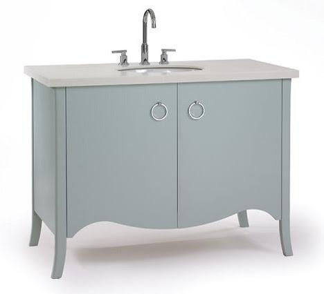 Transitional bathroom vanity from Waterfall Bathroom Furniture