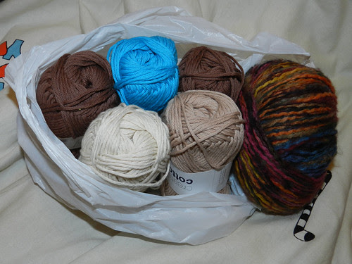 I bought some yarn