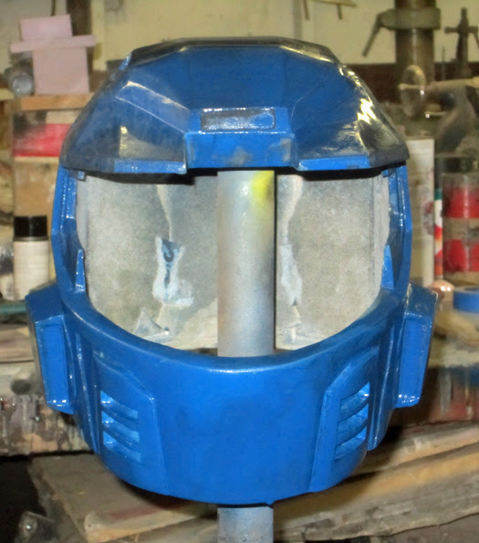 Caboose Helmet test paint 2