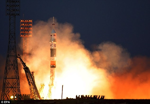Ligação militar?  Uma teoria é que o pentagrama é os restos de uma estação de rastreamento russo usado para monitorar foguetes Soyuz