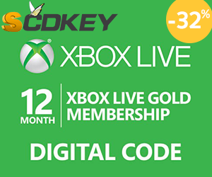 Xbox Live 12 Months Gold Membership 38,75€ with code: SKXBOX12.